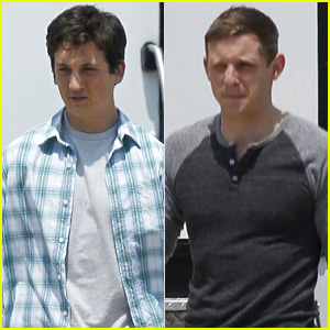 Miles Teller Posts 'Fantastic Four' Selfie While Filming with Jamie Bell in Baton Rouge