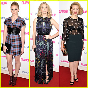 Sophie Turner & Natalie Dormer Bring Some 'Game' To Glamour Women of the Year Awards 2014