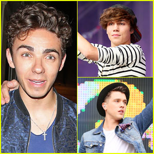 Nathan Sykes & George Shelley Go Clubbing in London