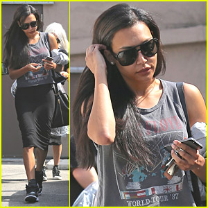 Naya Rivera Shops Around After Deleting Twitter Account