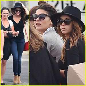 Nina Dobrev Jets Off to Saint-Tropez with Her Mom, Jessica Szohr, & Emma Miller!
