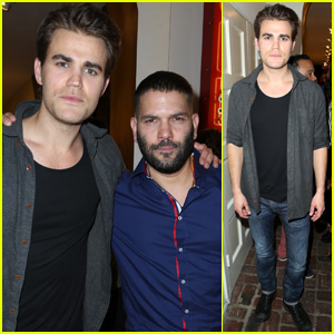 Paul Wesley Hangs with Scandal's Guillermo Diaz at Immigrant Heritage Month Gala