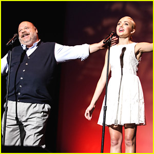 Peyton List Performs with Kevin Chamberlin at Jerry Herman Awards 2014