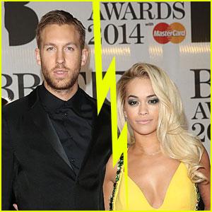 Calvin Harris Confirms Rita Ora Split