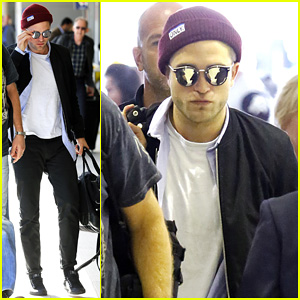 Robert Pattinson Departs Sydney After 'Rover' Premiere!