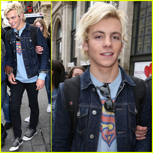 Ross Lynch Brings R5's 'Louder Tour' to Paris!
