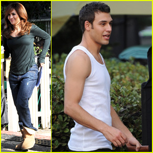Ryan Guzman Films 'The Boy Next Door' Reshoots with Jennifer Lopez