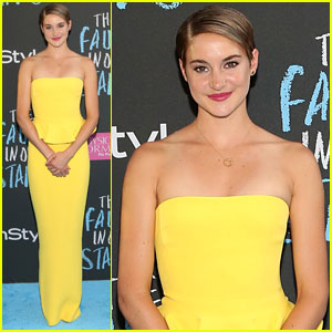 Shailene Woodley Shines Bright at 'The Fault in Our Stars' NYC Premiere!