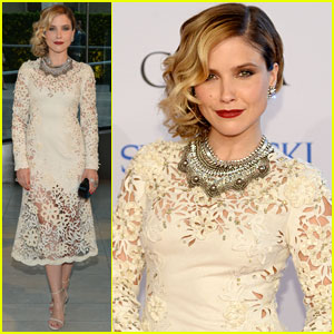 Sophia Bush is Lovely in Lace for CFDA Fashion Awards 2014!