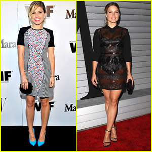 Sophia Bush Attends Two Events In One Night With Ease