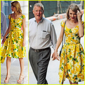Taylor Swift & Brother Austin Take Their Dad Out to Dinner for Father's Day