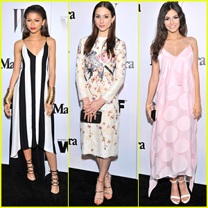 Zendaya & Victoria Justice Top The Trendsetters at MaxMara's Women in Film Cocktail Party
