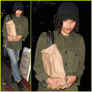 Zoe Kravitz Hits the Chateau Marmont While 'Insurgent' Films in Atlanta