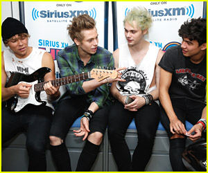 5 Seconds of Summer Reveal Crushes on Ariana Grande & Pixie Lott!
