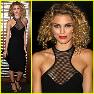 AnnaLynne McCord Lets Her Curls Loose for Stars & Stripes Charity Event