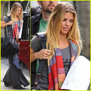 AnnaLynne McCord Starts Shooting 'Photographs' in Vancouver