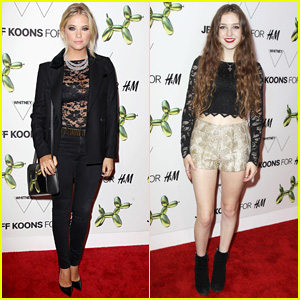 Ashley Benson & Birdy Help Launch H&M Fifth Avenue Flagship Store in NYC!