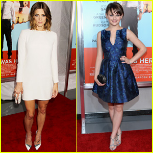 Ashley Greene & Joey King are Red Carpet Beauties at 'Wish I Was Here' NYC Premiere