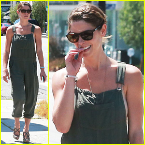 Ashley Greene Knows How to Rock a Pair of Overalls - See the Pics!