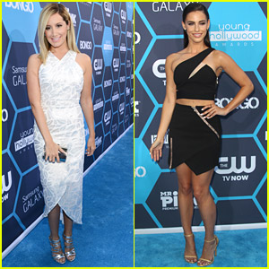 Ashley Tisdale & Jessica Lowndes Are 'Young &' Lovely at Young Hollywood Awards 2014
