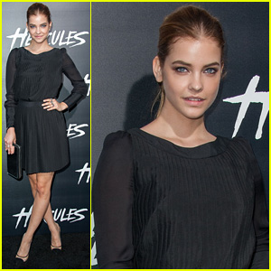 Barbara Palvin Premieres 'Hercules' in Hollywood