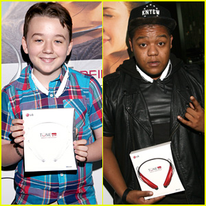 Benjamin Stockham & Kyle Massey: GBK Luxury Sports Lounge Guys!