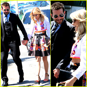 Suki Waterhouse Checks Out Wimbledon with Boyfriend Bradley Cooper!