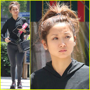 Brenda Song Gets a Workout in Before the Holiday Weekend!