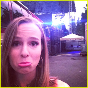 Bridgit Mendler Debuts New Song 'Deeper Shade Of Us' After Rainy Concert Delay - Listen Here!