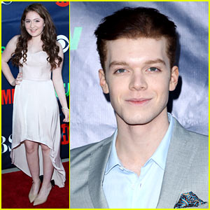 Cameron Monaghan & Emma Kenney Are 'Shameless' at Showtime's TCA Party!