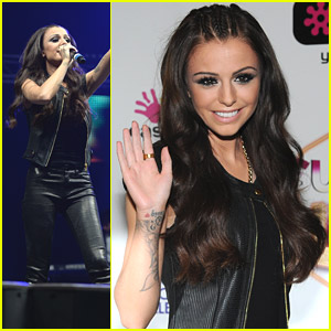 Cher Lloyd Is 'Glad To Be Back In The UK' at Key 103 Concert