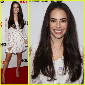 Chloe Bridges Struts Her Stuff at 'The Killing' Premiere