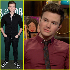Chris Colfer on Lea Michele & Naya Rivera's Rumored Feud: 'Ask Them'