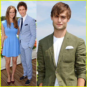 Douglas Booth Checks Out Audi International Polo Match