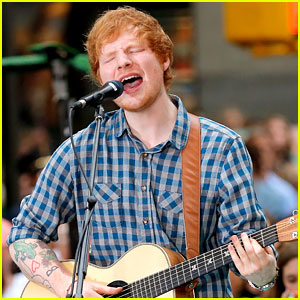 Ed Sheeran's Fortune Cookie Mocks Him for Being a Ginger!