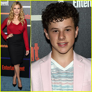 Eliza Taylor & Nolan Gould Stop By the Entertainment Weekly Comic-Con Party!