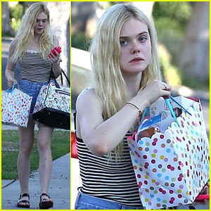 Elle Fanning Steps Out After Young Hollywood Awards 2014 Nomination