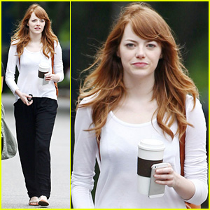Emma Stone Stars Filming New Woody Allen Flick in Rhode Island