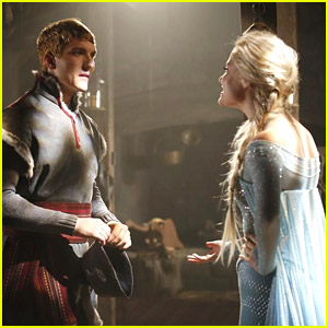 Even More Pics of Scott Michael Foster & Georgina Haig as Kristoff & Elsa for 'Once Upon A Time' - See Them Here!