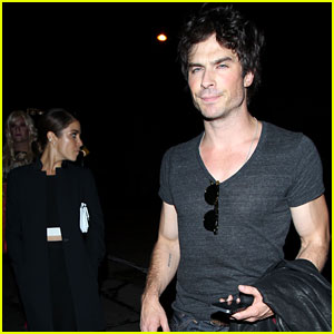 Ian Somerhalder Gets Dinner with Nikki Reed After the Young Hollywood Awards