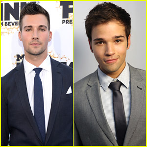 James Maslow & Nathan Kress Take Over The Young Hollywood Awards 2014