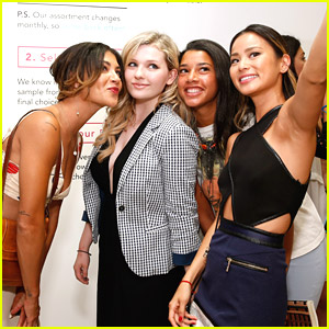 Abigail Breslin Joins Jamie Chung & Jessica Szohr at Birchbox Boutique Opening