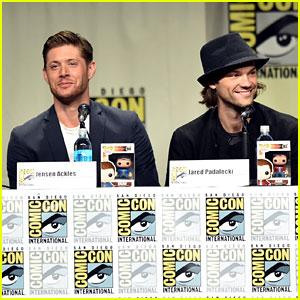 Jensen Ackles & Jared Padalecki Bring Handsome to Comic-Con!