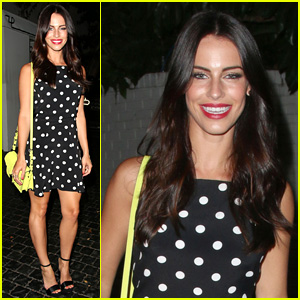 Jessica Lowndes is Polka Dot Pretty for Girls' Night Out!