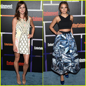 Jessica Stroup & Jessica Parker Kennedy Strike a Pose at Entertainment Weekly's Comic-Con Party!