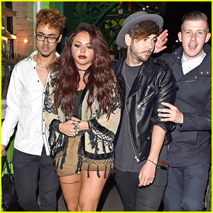 Little Mix Singer Jesy Nelson Hangs With The Guys After Reportedly Splitting From 'Diversity' Boyfriend