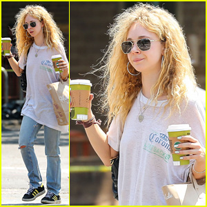 Juno Temple is 'Crazy About Nice Knickers'!