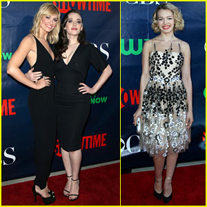 Kat Dennings & Beth Behrs May Be '2 Broke Girls,' But They Know How to Party!