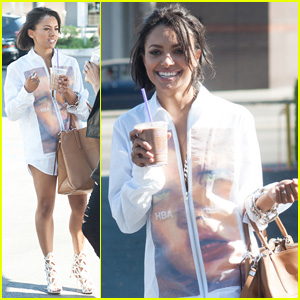 Kat Graham is Back in Los Angeles After Romantic Jamaican Vacation!