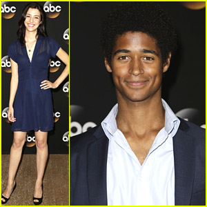 Katie Findlay & Alfie Enoch Show Us 'How To Get Away With Murder' at TCAs 2014